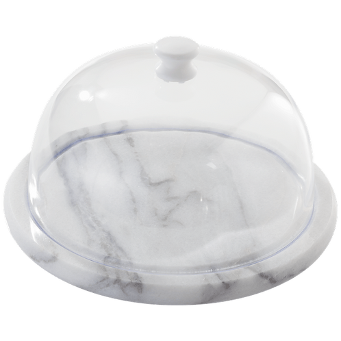 Marble Cheese Board + Dome
