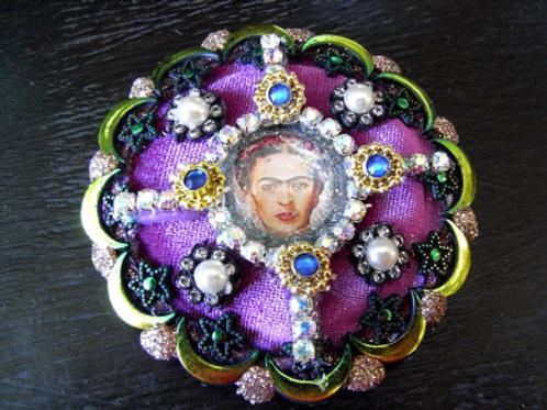 Frida Khalo Moon & Star Brooch