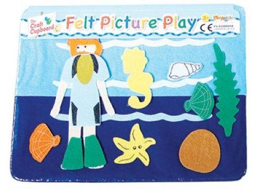 Felt Picture Play - Diver