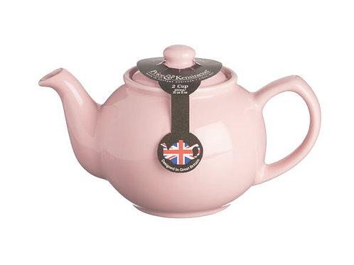 Pastel Pink 6cup Teapot
