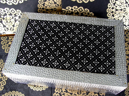 Black & Silver Jewellery Box