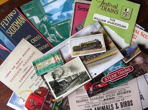 Steam Trains Memorabilia Pack