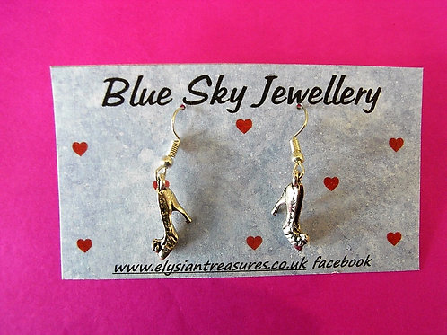 Blue Sky Stiletto Earrings