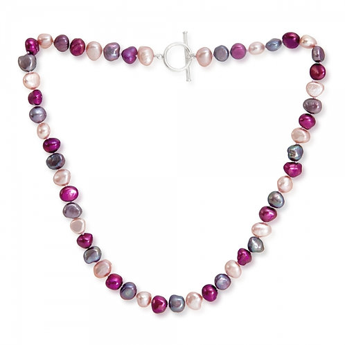 Multi Colour Fresh Water Pearl Necklace