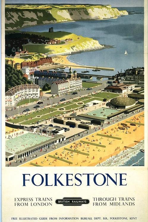 Folkestone Vintage Image Card