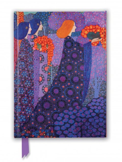 Vittorio Zecchin: Princesses from A Thousand and One Nights (Foiled Journal)