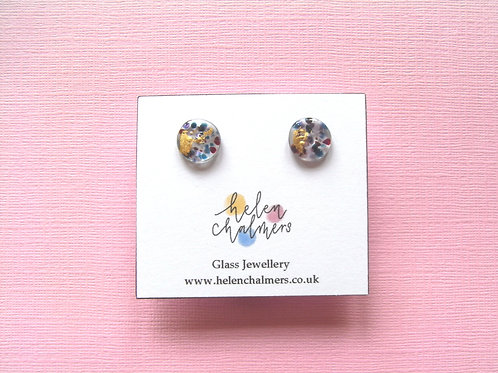 Helen Chalmers Midi Stud Earrings (Design 35)