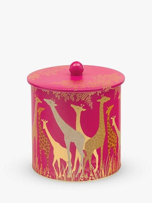 Sara Miller Giraffe Biscuit Barrel
