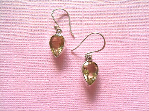 Siren Silver Citrine Earrings