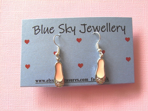 Blue Sky Pink Ballet Slipper Jewellery