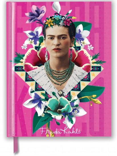 Frida Kahlo Pink (Blank Sketch Book)