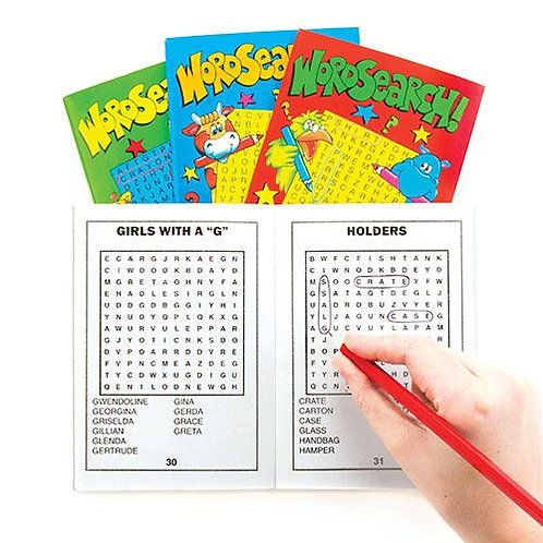 Pocket Word Search Book x 2