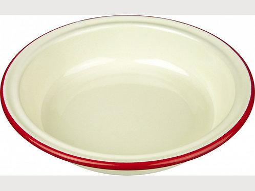 Falcon Cream Enamel Pie Dish