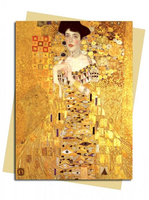 Gustav Klimt: Adele Bloch Bauer Greeting Card