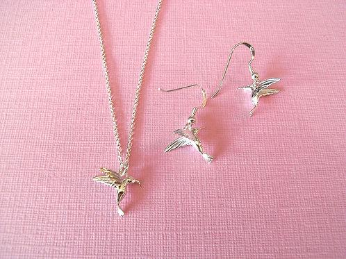 Hummingbird Sterling Silver Jewellery