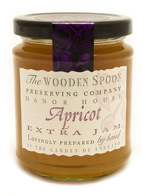 Wooden Spoon Apricot Jam 340g