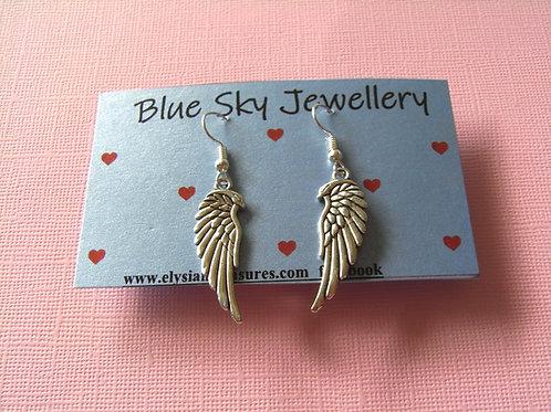Blue Sky Angel Wing Jewellery