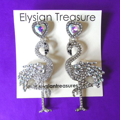 AB Flamingo Earrings
