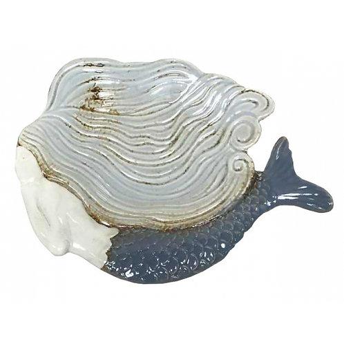 Ceramic Mermaid Dish