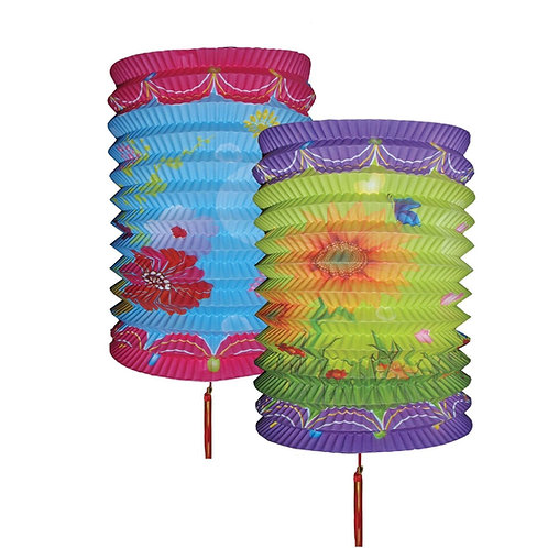 Blue Decorative Paper Lantern