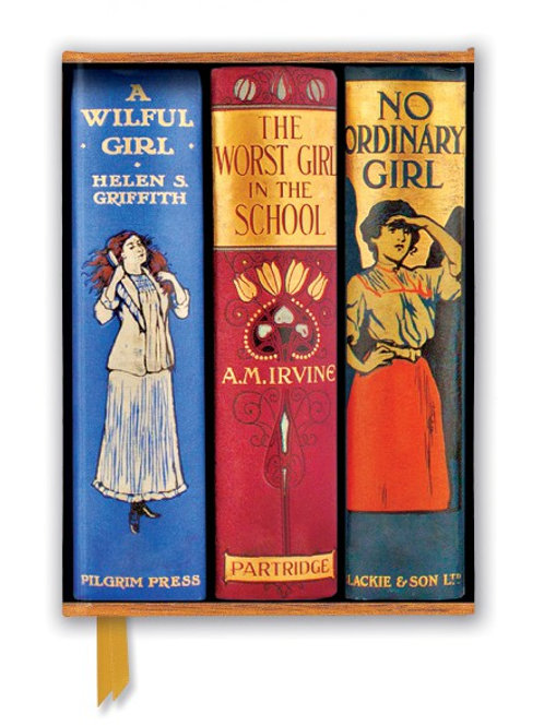 Bodleian Libraries: Book Spines Great Girls (Foiled Journal)