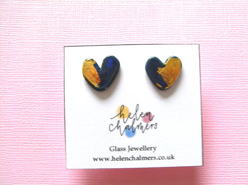Helen Chalmers Atlantis Heart Earrings (Design 28)