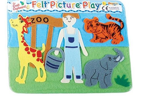Felt Picture Play - Zoo