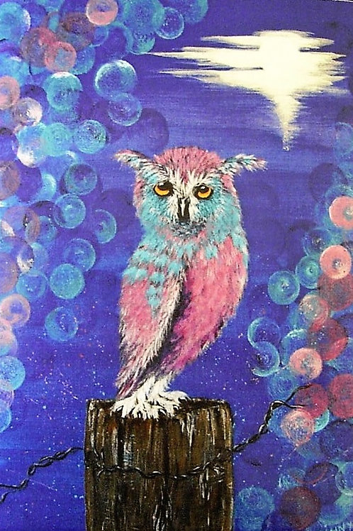 'Hooty' Ginny Garlinge Card