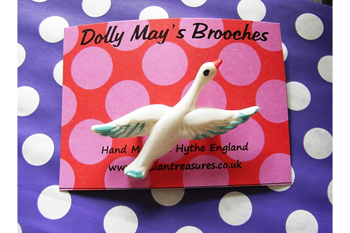 Dolly May's Bird Brooch