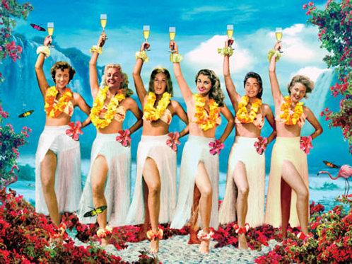 Tropical Ladies Card