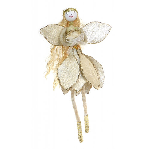 Gold Capiz Fairy
