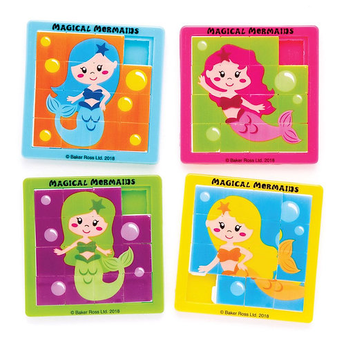 Magical Mermaids Sliding Puzzles