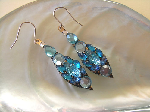 Annie Sherburne Turquoise Drop Earrings