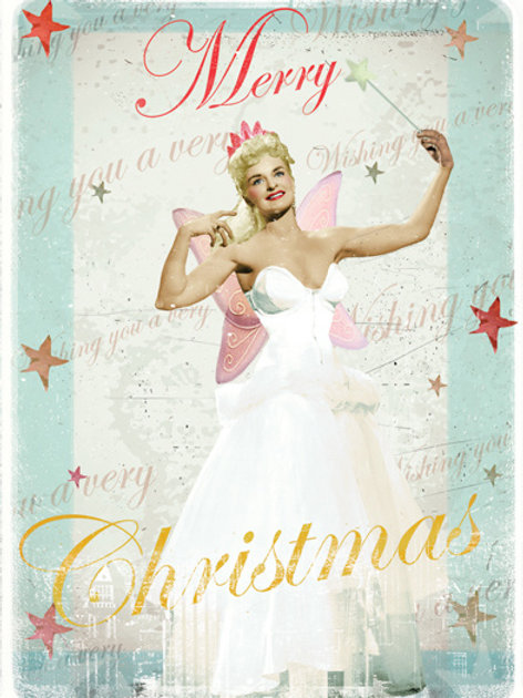 Christmas Fairy Card Pack Of 5