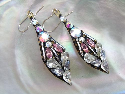 Annie Sherburne Palest Pink Drop Earrings