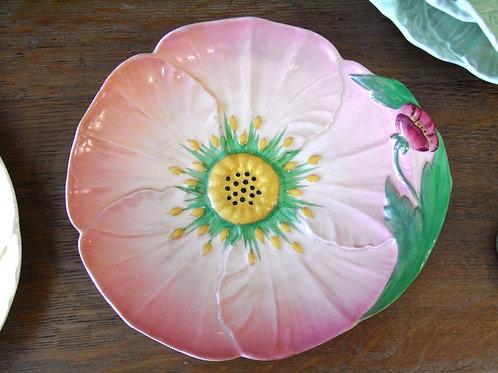 Carlton Ware Pink Buttercup Dish