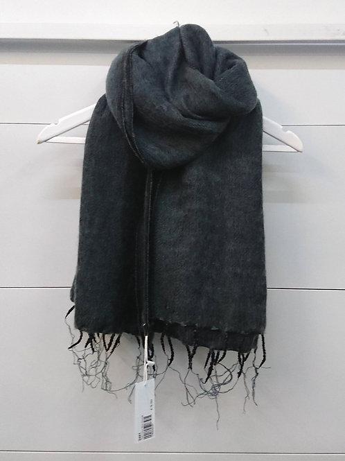 Charcoal Scarf 50% Wool