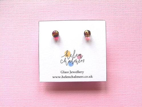 Helen Chalmers Mini Stud Earrings (Design 38)