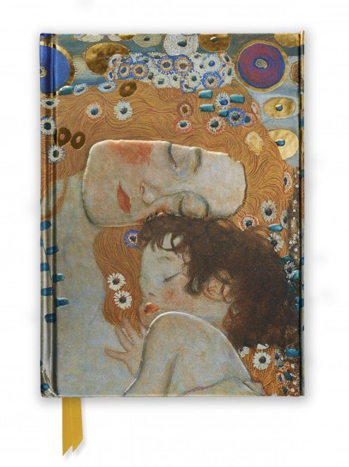 Gustav Klimt: Three Ages of Woman (Foiled Journal)