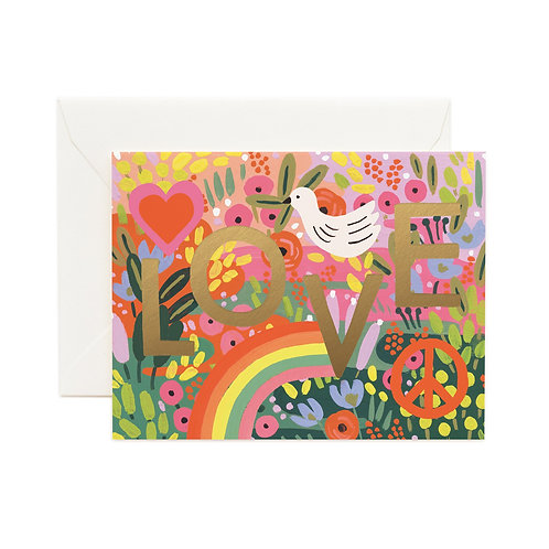 Rifle & Co 'All You Need Is Love' Card