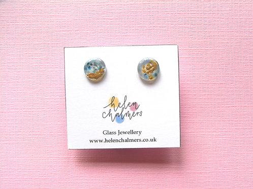 Helen Chalmers Midi Stud Earrings (Design 37)