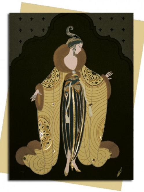 Le Harem (Erté) Greeting Card