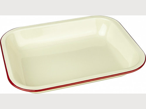 Falcon Housewares Red and Cream Bake Pans