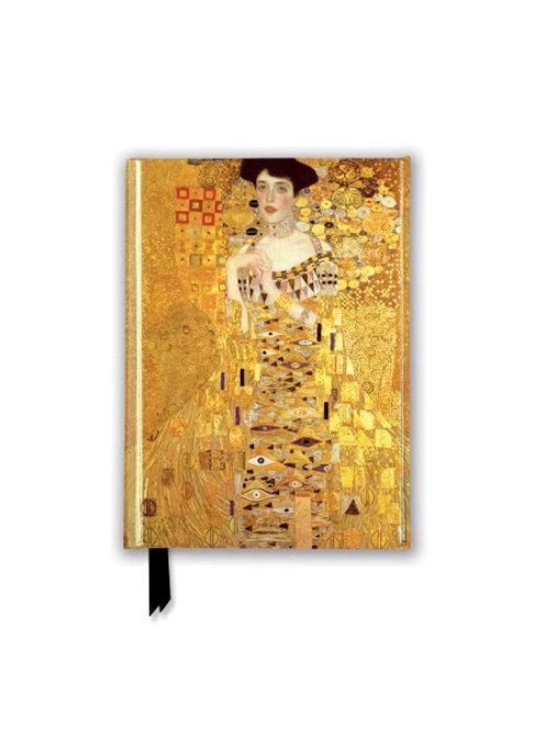 Gustav Klimt: Adele Bloch Bauer I (Foiled Pocket Journal)