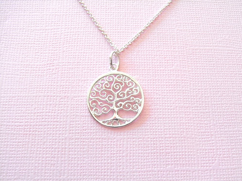 Sea Daisy Tree Of Life Necklace