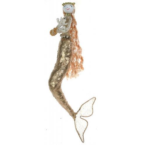 Gold Capiz Mermaid