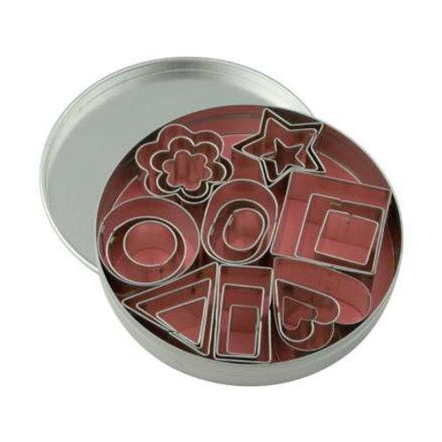 Set of 24 Mini Cookie Cutters