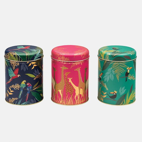 Sara Miller Tropical Canisters