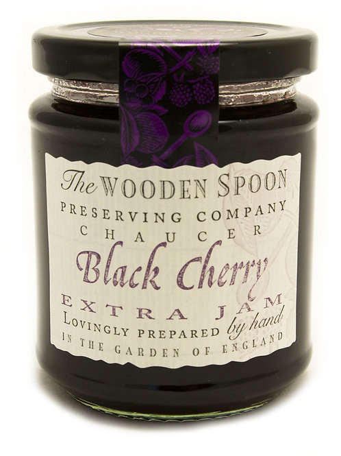 Wooden Spoon Black Cherry Jam 340g