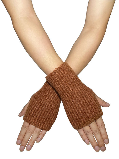 Super Soft Fingerless Knitted Gloves